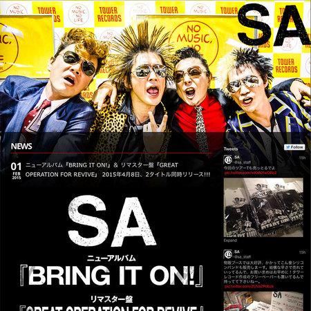 SA オフィシャル・サイト